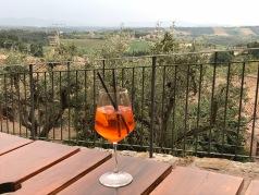 San Gimignano aperitivo