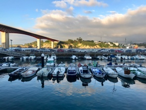 Ribadeo puerto